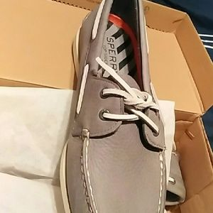 Men's Sperry A/O 2-Eye Daytona Grey Size 11